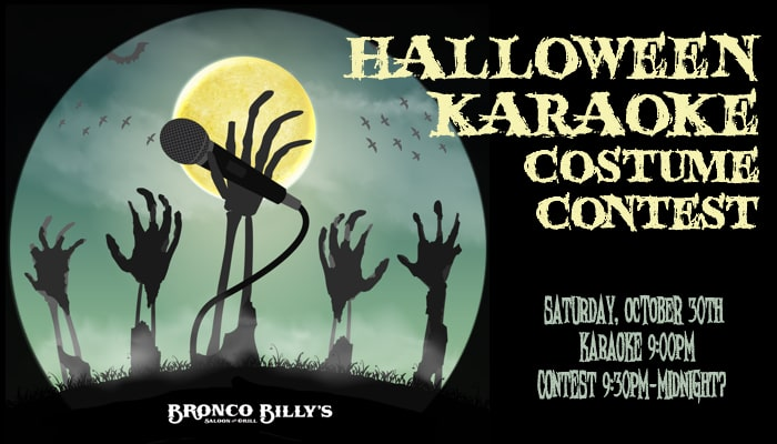 Halloween Karaoke Contest