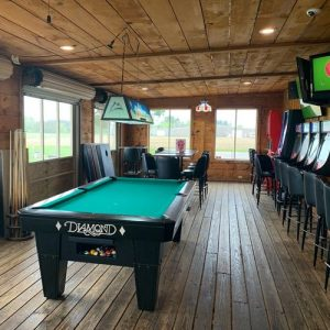Back Porch Pool Table