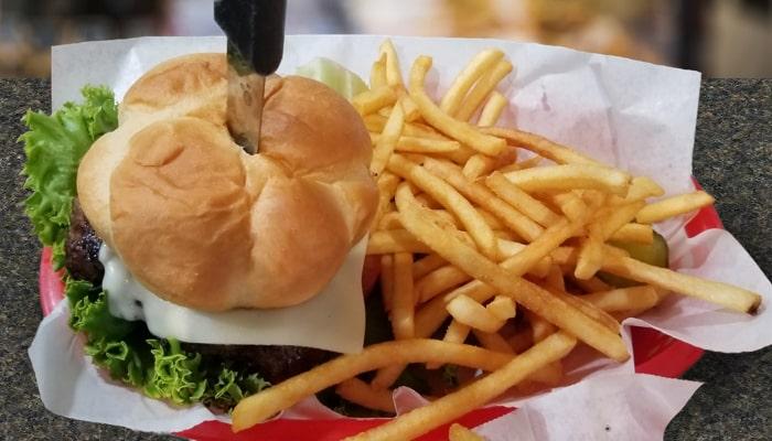 Wednesday Burger Basket Special