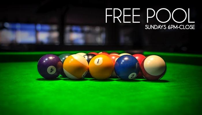 Free Pool Sundays